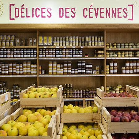 Pommes et délices des Cévennes: en vente dans le magasin Origine Cévennes
